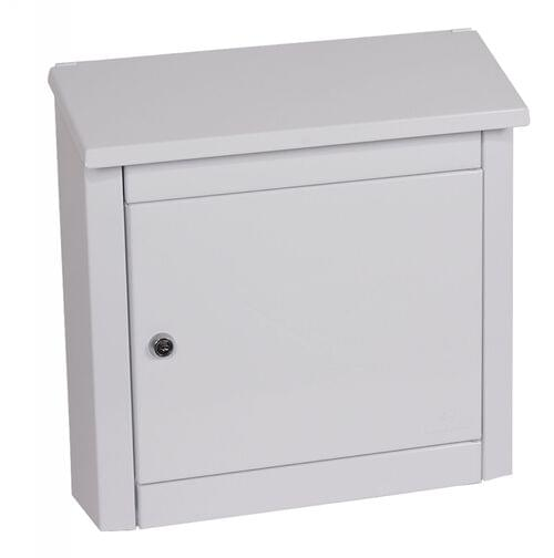 Phoenix Moda Top Loading Mail Box MB0113KW in White with Key Lock