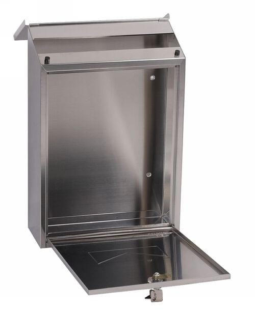 Phoenix Villa Front Loading Mail Box MB0114KS in Stainless Steel with Key Lock by Phoenix, PSMB0114KS
