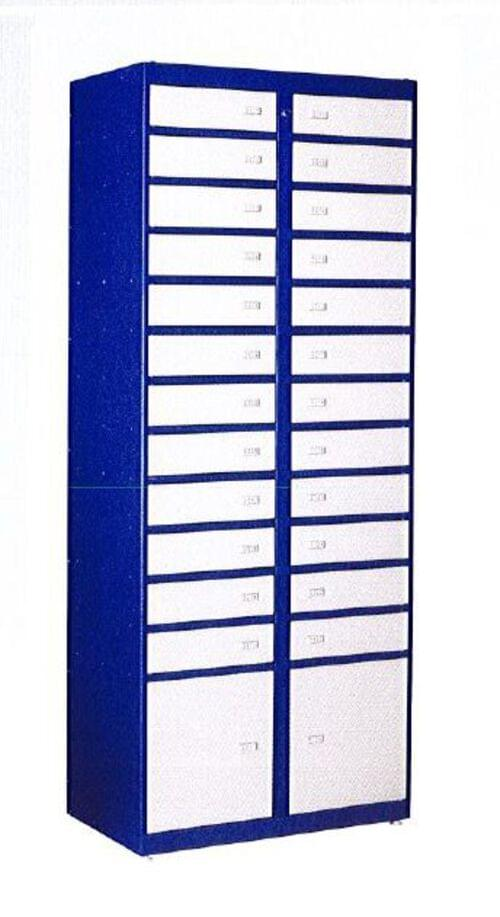 Phoenix Storage Locker SL0026 Accessory Unit to SL0024E with 26 Lockers