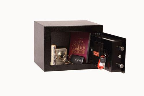 Phoenix Compact Home Office SS0721E Black Security Safe with Electronic Lock by Phoenix, PSSS0721E
