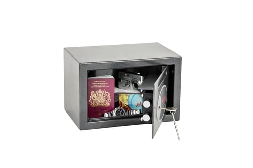 Phoenix Vela Deposit Home & Office SS0801KD Size 1 Security Safe with Key Lock by Phoenix, PSSS0801KD