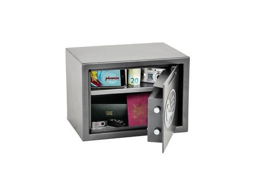 Phoenix Vela Deposit Home & Office SS0802ED Size 2 Security Safe with Electronic Lock by Phoenix, PSSS0802ED