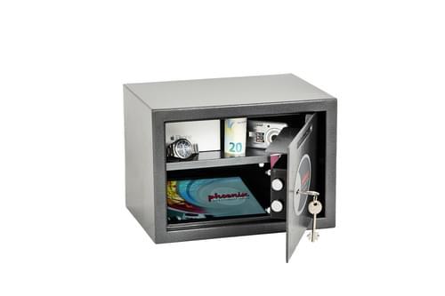 Phoenix Vela Deposit Home & Office SS0802KD Size 2 Security Safe with Key Lock by Phoenix, PSSS0802KD
