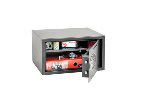 Phoenix Vela Deposit Home & Office SS0803ED Size 3 Security Safe with Electronic Lock by Phoenix, PSSS0803ED
