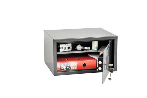 Phoenix Vela Deposit Home & Office SS0803KD Size 3 Security Safe with Key Lock by Phoenix, PSSS0803KD