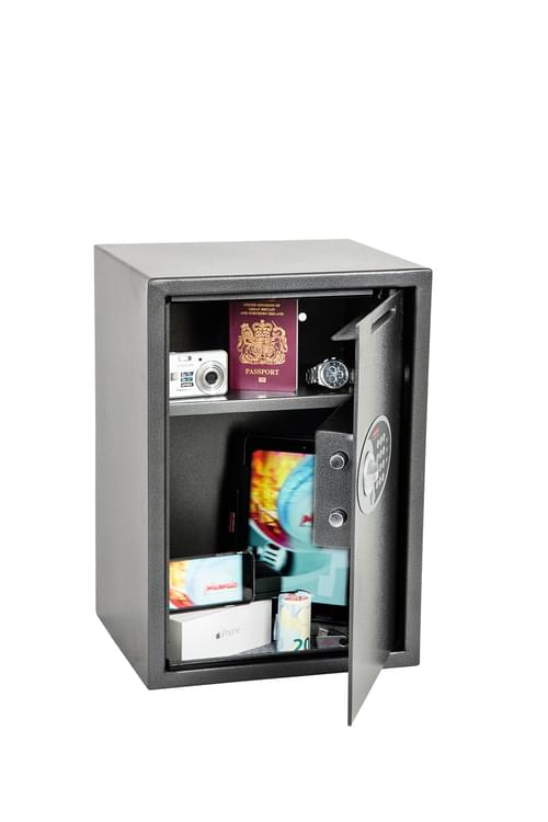 Phoenix Vela Deposit Home & Office SS0804ED Size 4 Security Safe with Electronic Lock by Phoenix, PSSS0804ED