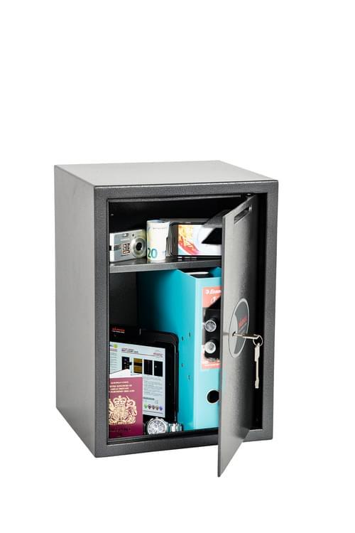Phoenix Vela Deposit Home & Office SS0804KD Size 4 Security Safe with Key Lock by Phoenix, PSSS0804KD