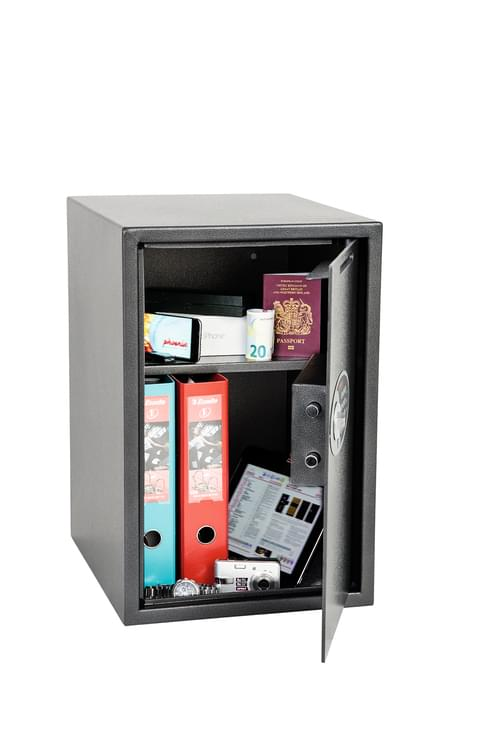 Phoenix Vela Deposit Home & Office SS0805ED Size 5 Security Safe with Electronic Lock by Phoenix, PSSS0805ED