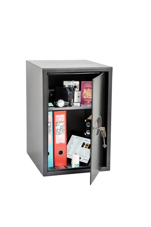 Phoenix Vela Home & Office SS0805K Size 5 Security Safe with Key Lock by Phoenix, PSSS0805K