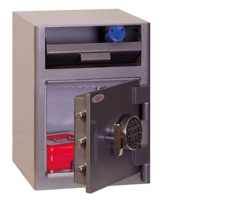 Phoenix Cash Deposit SS0996ED Size 1 Security Safe with Electronic Lock by Phoenix, PSSS0996ED