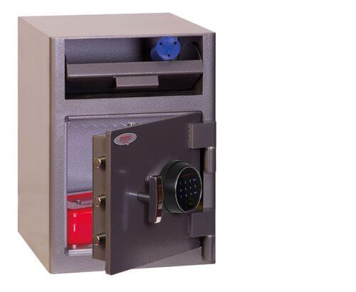 Phoenix Cash Deposit SS0996FD Size 1 Security Safe with Fingerprint Lock by Phoenix, PSSS0996FD