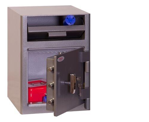 Phoenix Cash Deposit SS0996KD Size 1 Security Safe with Key Lock by Phoenix, PSSS0996KD