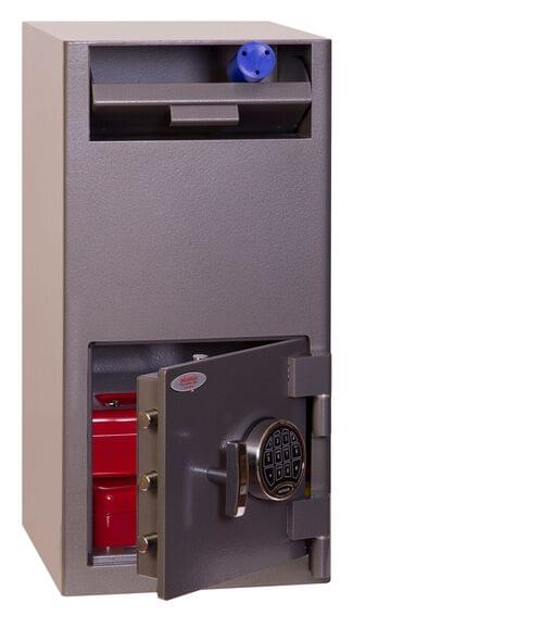 Phoenix Cash Deposit SS0997ED Size 2 Security Safe with Electronic Lock by Phoenix, PSSS0997ED