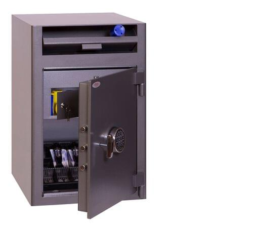 Phoenix Cash Deposit SS0998ED Size 3 Security Safe with Electronic Lock by Phoenix, PSSS0998ED