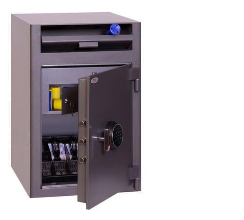 Phoenix Cash Deposit SS0998FD Size 3 Security Safe with Fingerprint Lock by Phoenix, PSSS0998FD