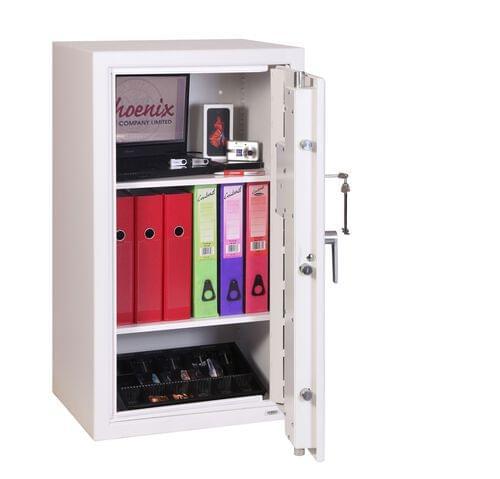 Phoenix SecurStore SS1162K Size 2 Security Safe with Key Lock by Phoenix, PSSS1162K