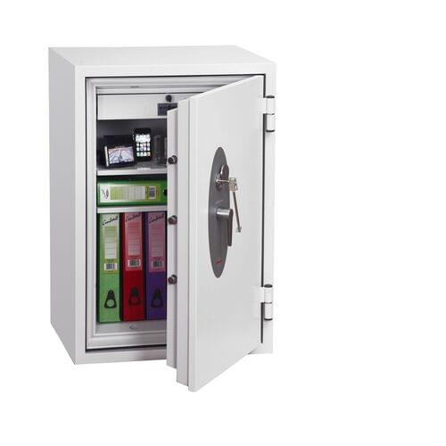 Phoenix Fire Fox SS1621K Size 1 Fire & S1 Security Safe with Key Lock by Phoenix, PSSS1621K