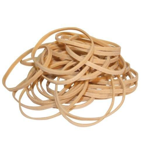 Office-5-Star Quality Rubber Bands - No.30 -  51 mm x 3mm -Approx 1150 Bands - by 5 Star Office, RUB109