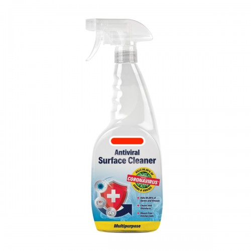 Antiviral & Antibacterial Effective Coronavirus Surface Sanitiser Food Safe Spray Bottle Bulk or Singles