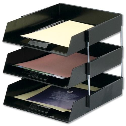 DeskTrays Blk Setof3 by Unbranded, OSG1129