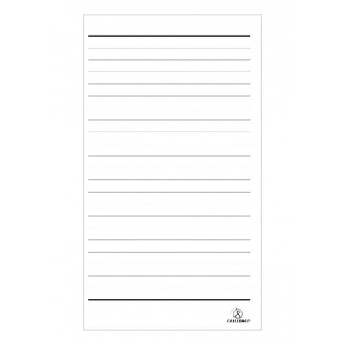 Challenge Duplicate Copy Book 8x5 21x13cm A5 Size Carbon Less Plain Lined 100 Sets Card Cover by Hamelin, *BOO1085