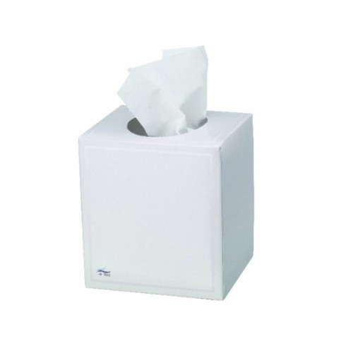 Single Box Facial Tissues Cube 3 Ply White
