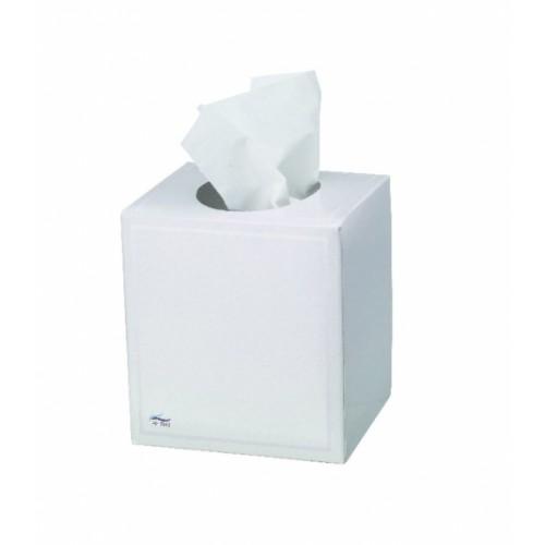 Single Box Facial Tissues Cube 3 Ply White by Tork, TIS100