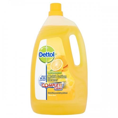 Dettol Antibacterial Disinfectant Surface Sanitiser Cleaner Citrus 4 Litre Large Bottle