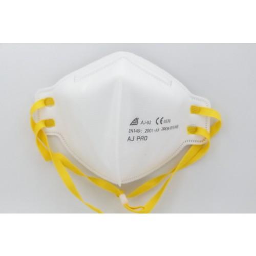 FFP3/N99 Filter Standard Respirator Fold Flat Face Mask (without/no valve) EN149 Pack of 20 IN STOCK