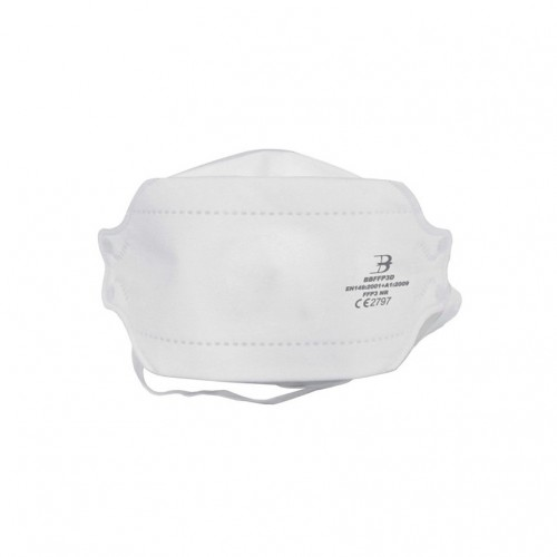 FFP3/N99 Filter Standard Respirator Fold Flat Face Mask (without/no valve) EN149 Pack of 20 IN STOCK