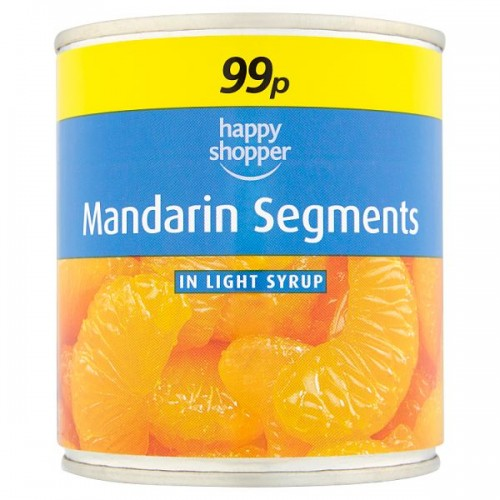 FOOD BANK DONATION ITEM - This will be delivered to the Forest Foodbank - HS Mandarin Segments 312g Tin x 1
