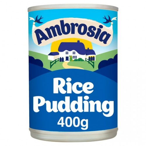 FOOD BANK DONATION ITEM - This will be delivered to the Forest Foodbank - Ambrosia Rice Pudding 400g Tin x 1