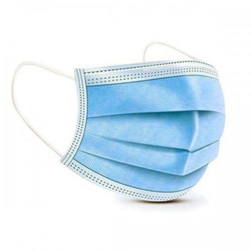 Retail Packs of 10 Fluid-Resistant iir Surgical Medical Masks 3 Ply EN14683 Certified Wholesale Bulk Pack 10x100 by Unbranded, MASKiir10x100