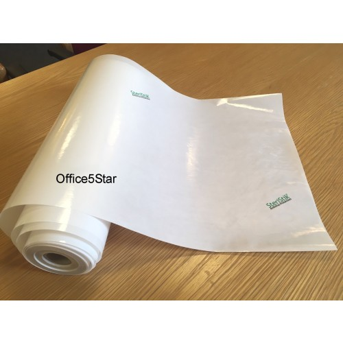 Steristik Antivirus Clear Self Adhesive Sticky Surface Covering Roll 33cm x 25M by Unbranded, COV1005