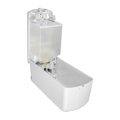 Hand Sanitiser Liquid & Gel Dispenser or Liquid Soap Free Bulk Fill (not cartridge) White by Unbranded, DISP102