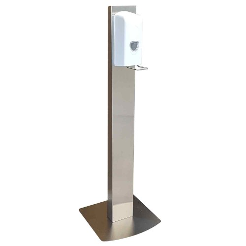 Hand Sanitiser Dispenser on a Stand - Free Standing - for Reception Areas and Offices