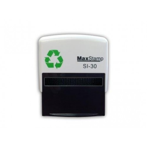 Maxum 3 Self Inking Stamp 57x21mm by , MAX030