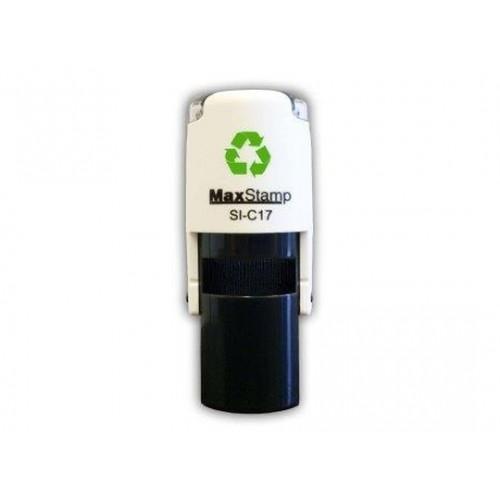 Maxum C17 Round Self Inking Stamp 15mm Diameter by , MAXC17