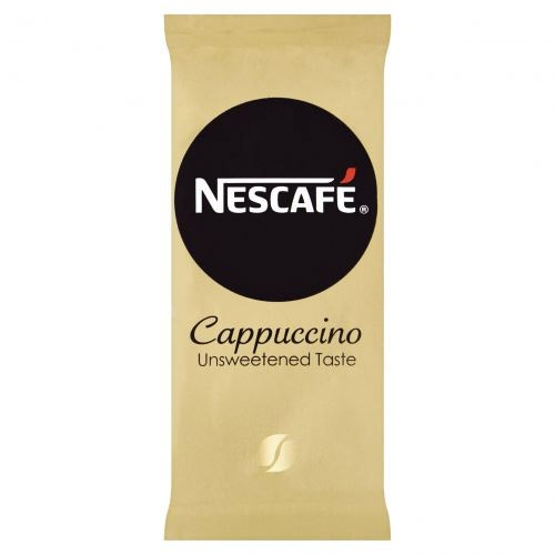 Nescafe Gold Unsweetened Instant Cappucino Coffee Stick Sachets One Cup (Pack of 50)