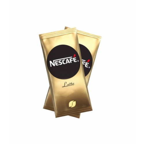 Nescafe Gold Latte One Cup Instant Coffee Sachet Sticks for Meetings and Kitchen Hygiene Pack of 40