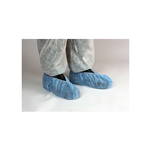 Disposable Over Shoe Covers in Blue One Size by , OVERSHOE1
