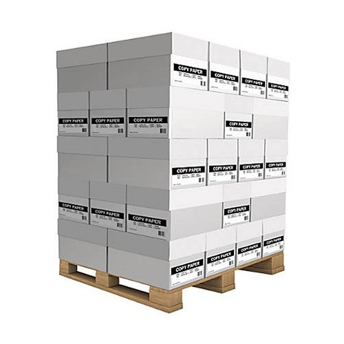 Pallet of A4 Paper 70gsm White Cheapest Bulk Buy at Wholesale Price Free Delivery in UK