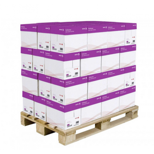 Pallet of A4 Paper 80gsm White Xerox Performer Cheapest Bulk Wholesale Price Free Delivery in UK