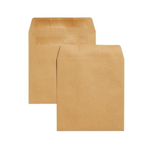 Plain Brown Manilla Wage/ Dinner Money Envelopes 108x102mm Small Pack of 50 by Spicers Lld, *ENV977