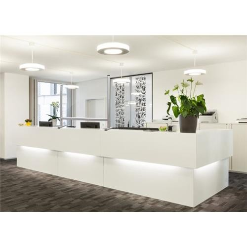 Social Distancing Screen 40 x 65 Free-Standing Clear for Reception Desks-Office-Shops-Restaurants by 5 Star Office, SCREEN300