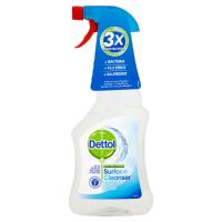 Dettol Antibacterial Surface Cleaner Spray Bottle 500ml