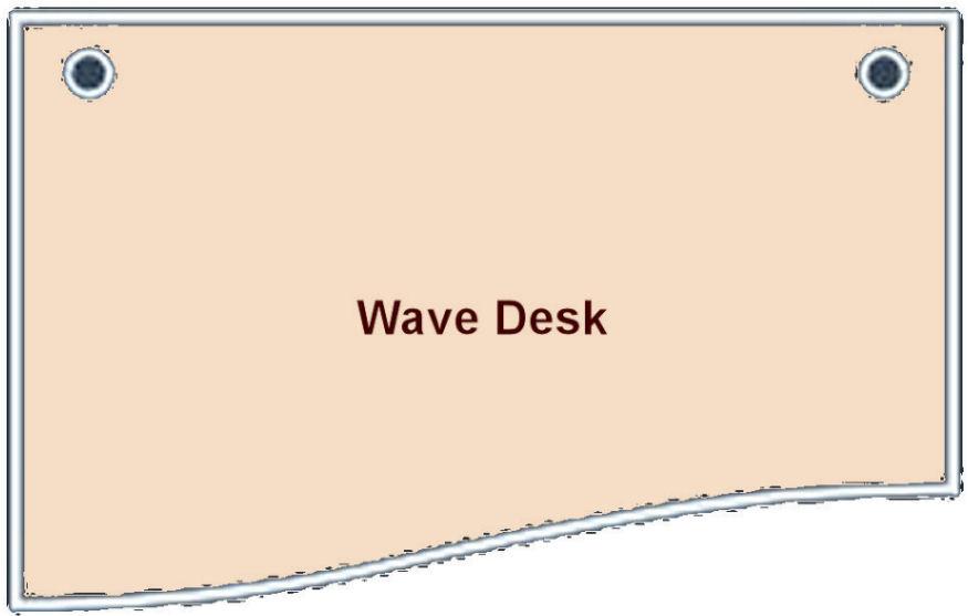 Wave Desk Finder
