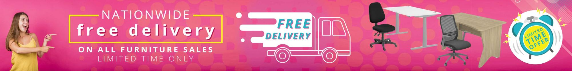 free delivery on furniture
