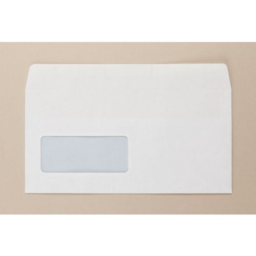 Opportunity Wallet Light Weight Env Self seal Wdw 22Up 17Flhs DL White PK100