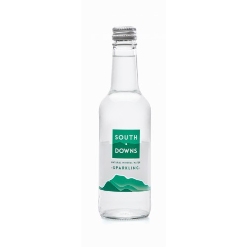 Southdowns Mineral Water 330ml Glass Bottle Sparkling